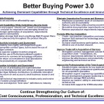 Three thoughts on Better Buying Power 3.0 (9Apr15)